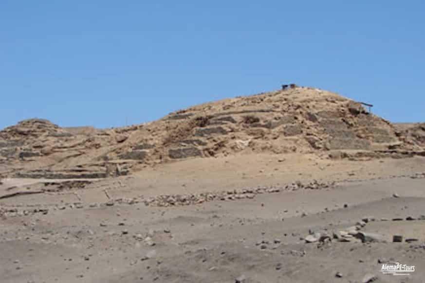 Lima - Áspero - Huaca de los Idolos