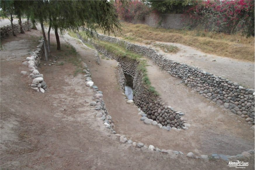 Nasca - The Aqueducts of Cantalloc