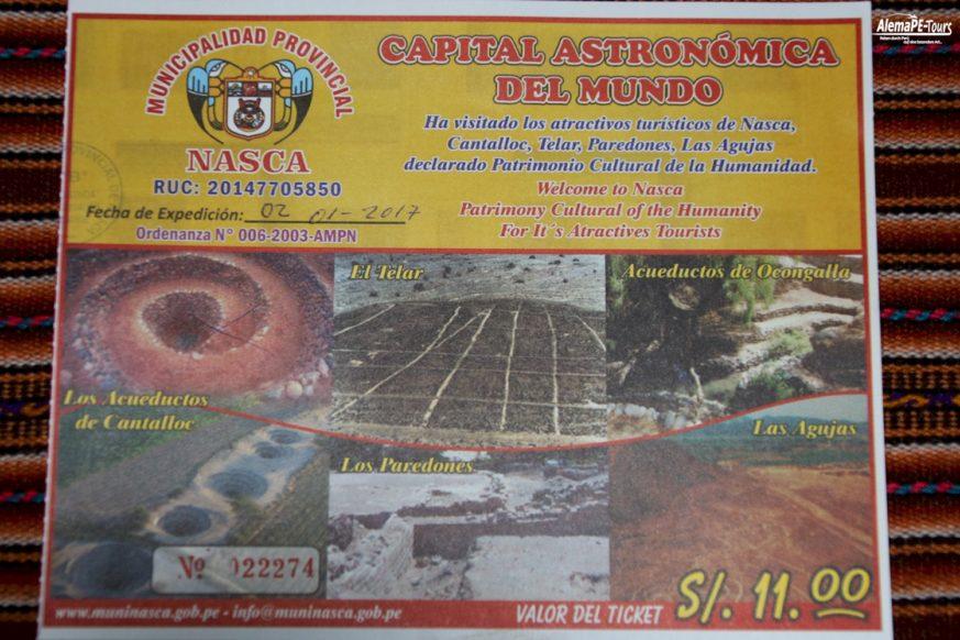 Nasca - The Aqueducts of Cantalloc