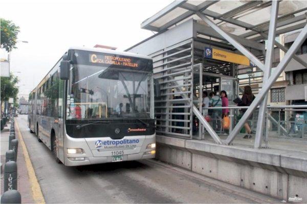 Verkehr in Lima Metropolitano