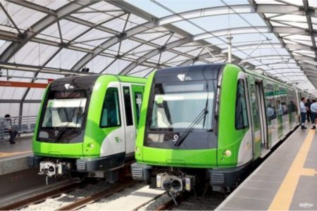 Verkehr in Lima Metro