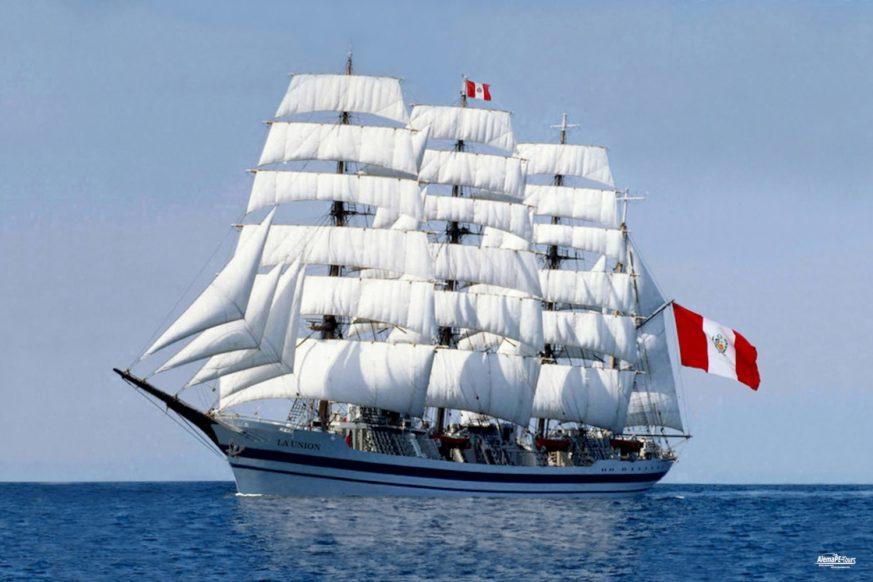 Callao - Segelschulschiff La Union Perú