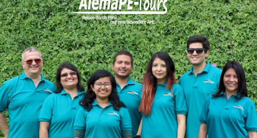 Das Team von AlemaPE-Tours S.A.C.