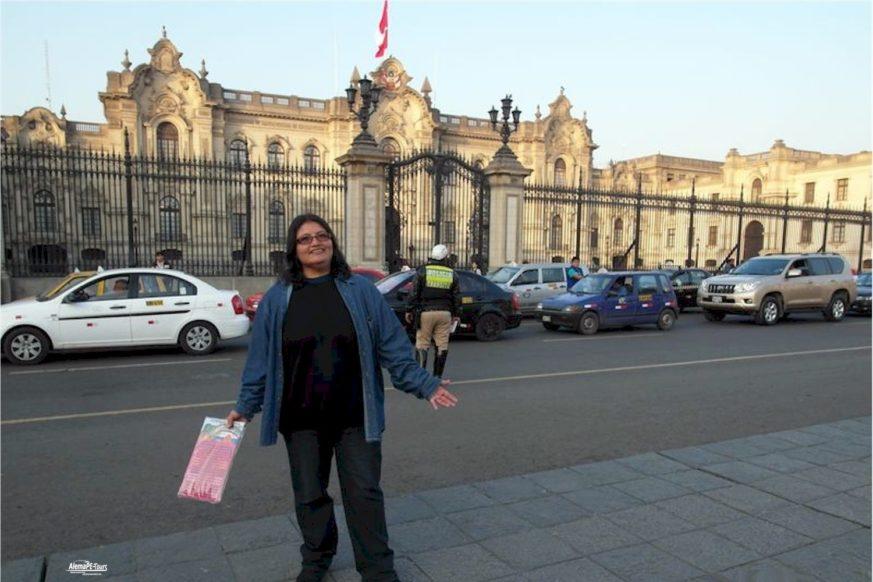 Lima - Palacio de Gobierno del Perú