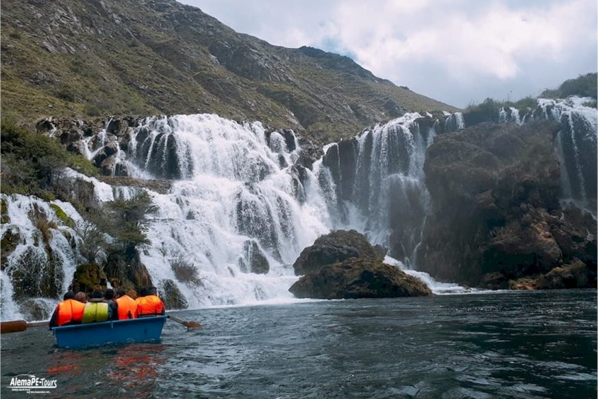 Huancaya - Vilca Falls