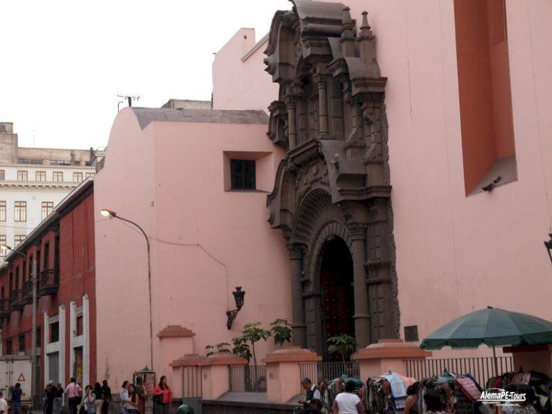 Lima - Jiron de la Unión - Iglesia la Merced