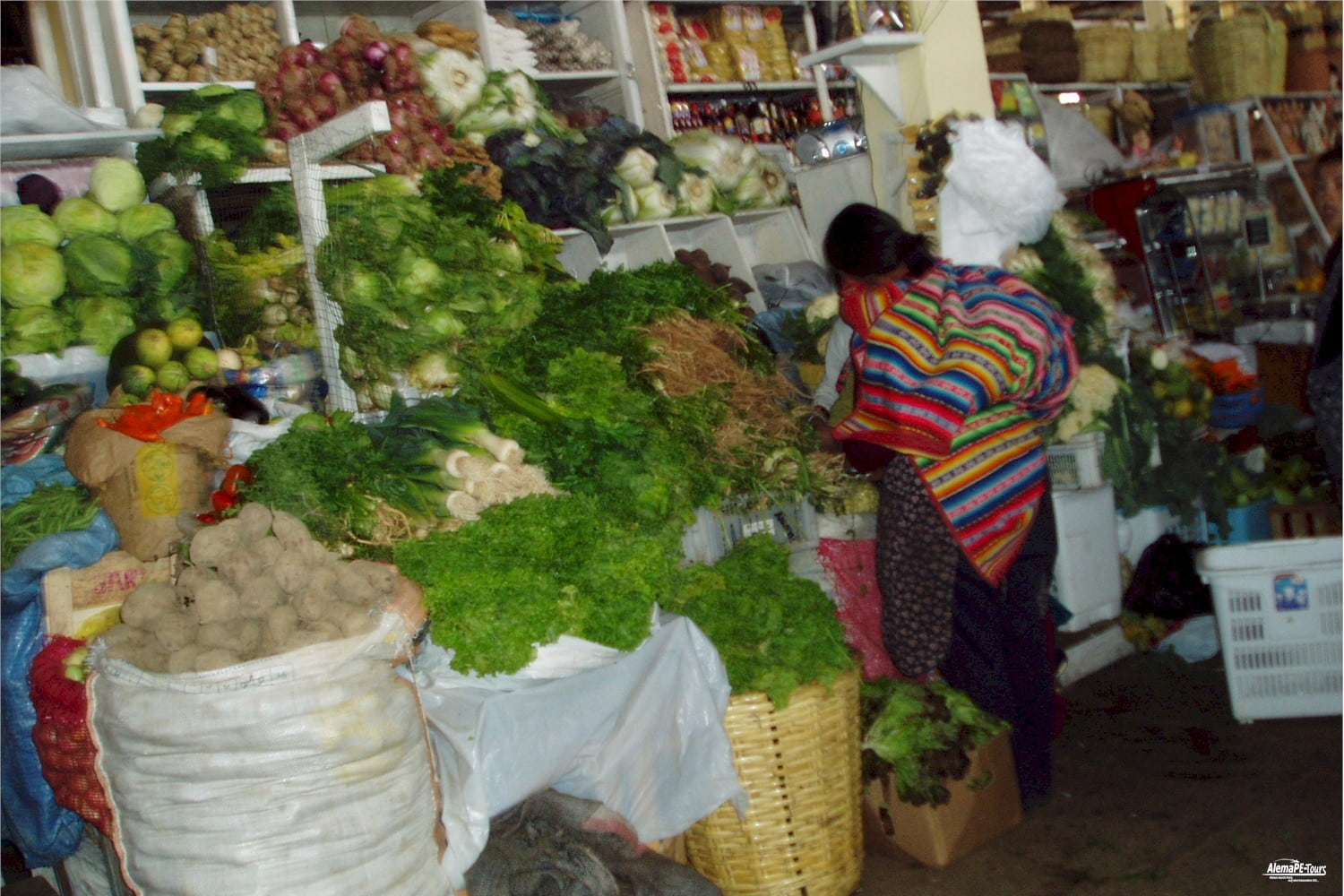 Cusco - Mercado Central de San Pedro