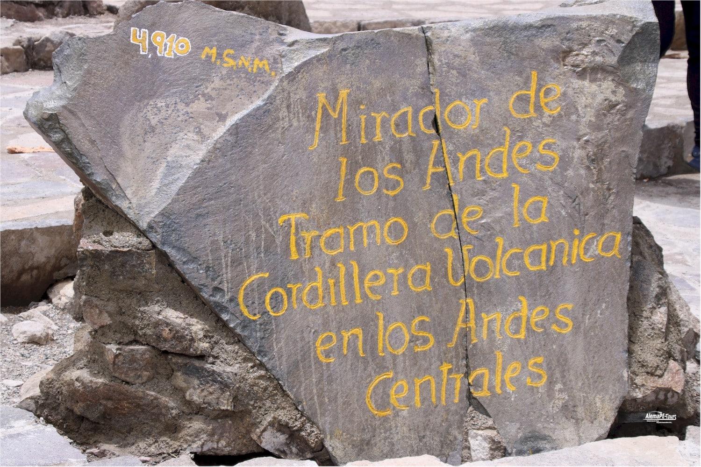 Mirador de los Volcanes - Aussichtspunkt über die Vulkane von Arequipa