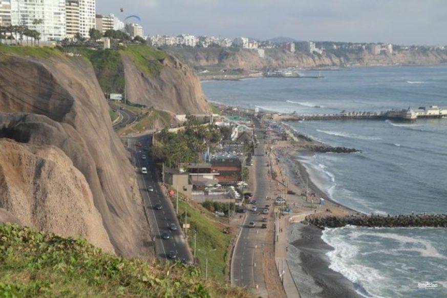 Lima - Miraflores - La Costa Verde