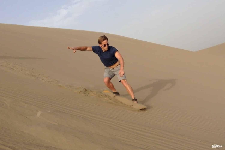 Oase Huacachina - Sandboarding