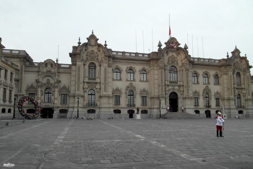 The Government Palace of Perú
