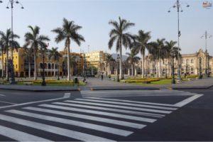 Lima - Plaza-Mayor - Municipalidad Metropolitano de Lima y Palacio de Gobierno del Perú