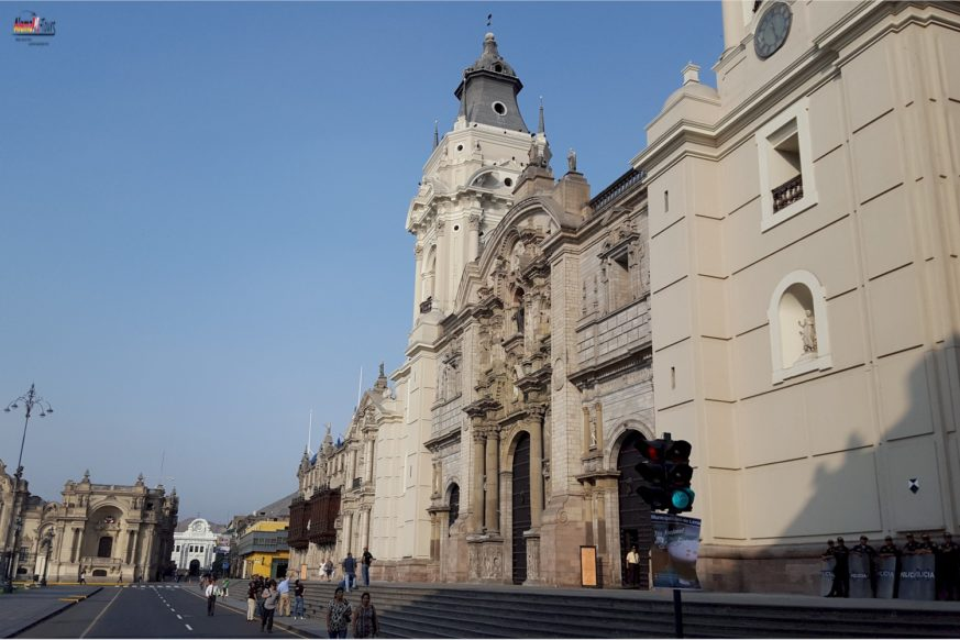 Lima - Plaza-Mayor - Catedral de Lima