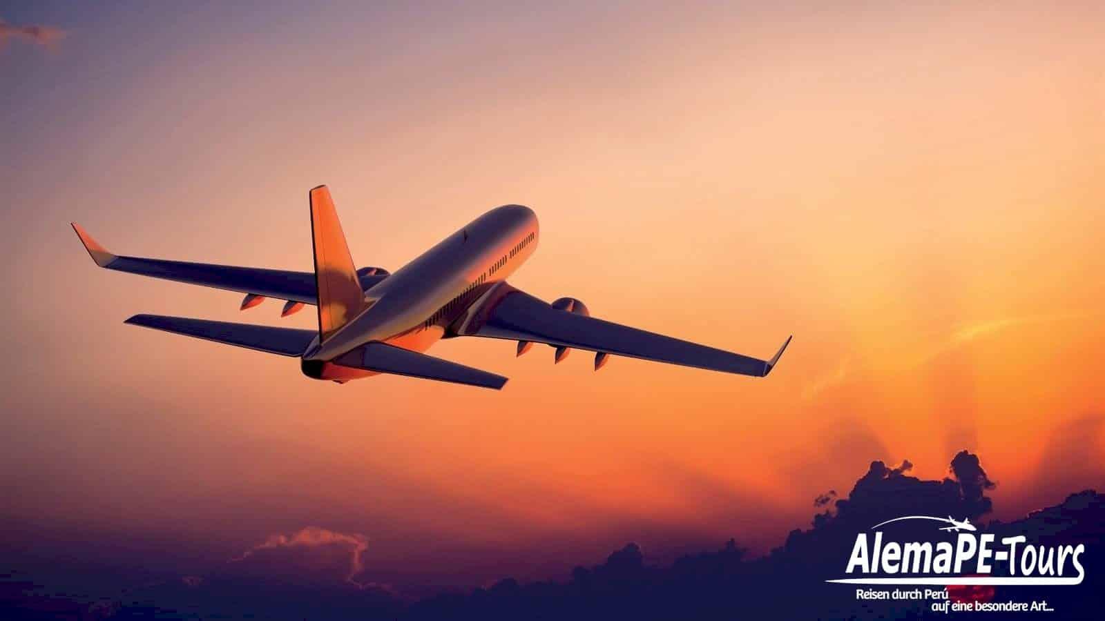 Entspanntes Flugreisen