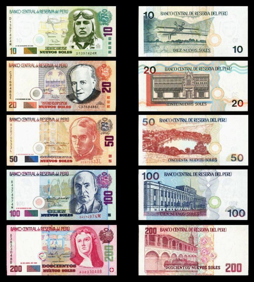 Peruanische Geldscheine