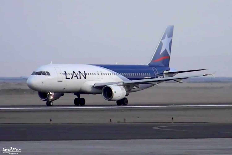 Avion de LAN