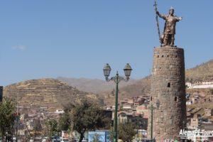 Cusco - Monumento Pachacuteq