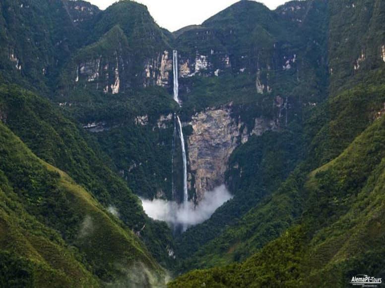 Gocta - Wasserfall