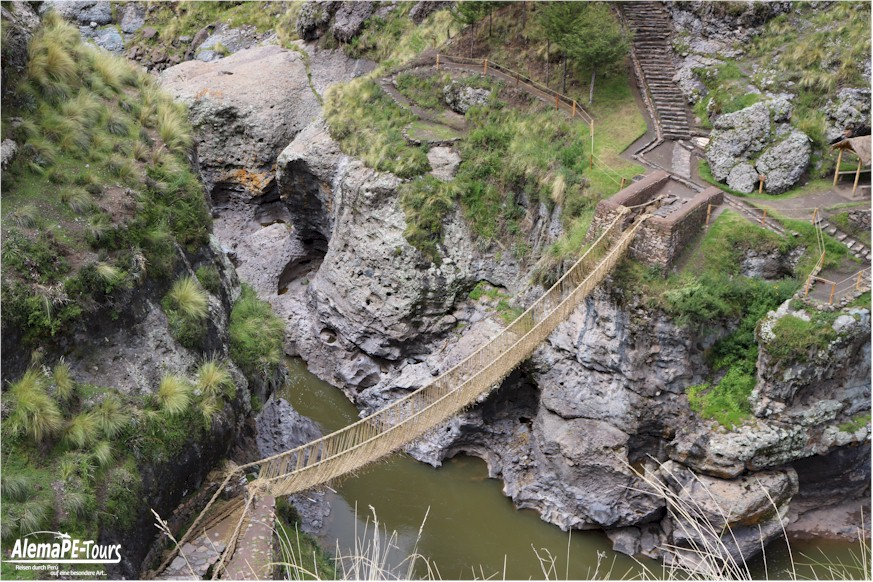 The Suspension Bridge of Q'eswachaka