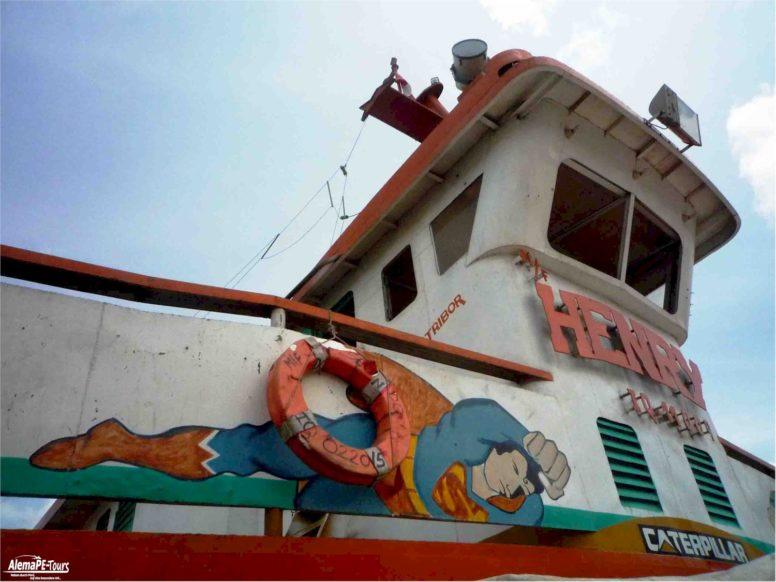 Tarapoto - By boat