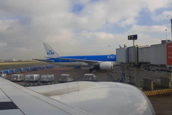 KLM Flugzeug
